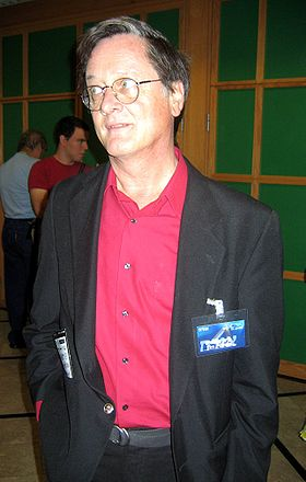 Tim Powers, à la convention ICon 2005 SF&F de Tel Aviv.