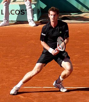 Andy Murray at the 2009 French Open 6.jpg