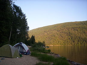 Camping à Barriere Lake