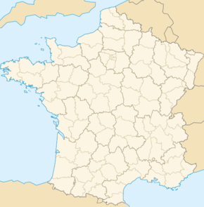 Carte de localisation de Saint-Laurent-d'Olt