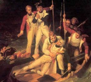 Sir Horatio Nelson when wounded at Teneriffe.jpg