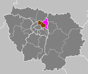 Département de la Seine-Saint-Denis - Arrondissement du Raincy.PNG