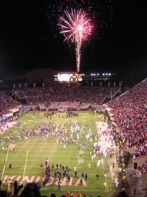 2006 Clemson at Virginia Tech celebration.jpg