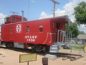 ATSF Rail car in Hereford, TX IMG 4861.JPG