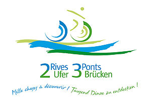 Logo de 2 Rives, 3 Ponts
