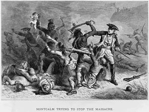 Montcalm trying to stop the massacre.jpg