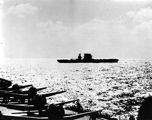 USS Lexington Coral Sea early morning.jpg