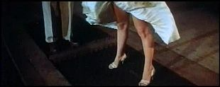 Monroe's skirt blows up in The Seven Year Itch trailer 1.jpg