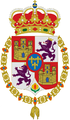 Coat of arms of Francis of Assisi (1822-1902), King consort of Spain.png