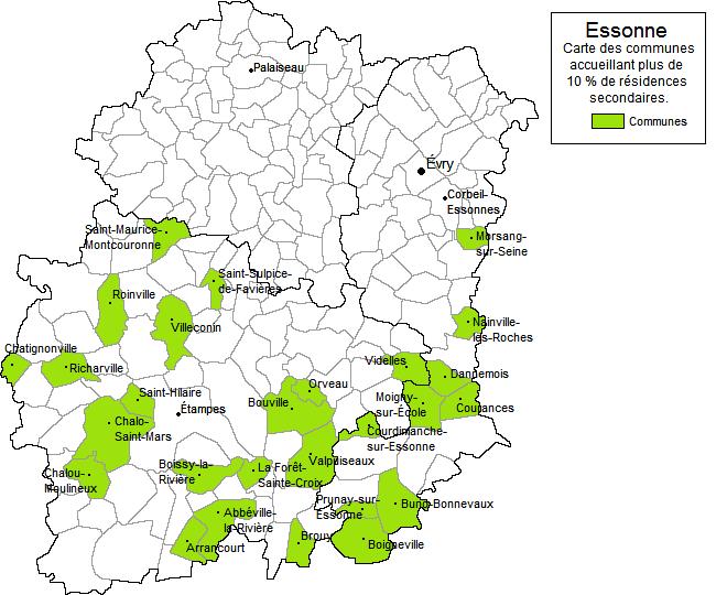 Essonne d partement for Espace vert essonne