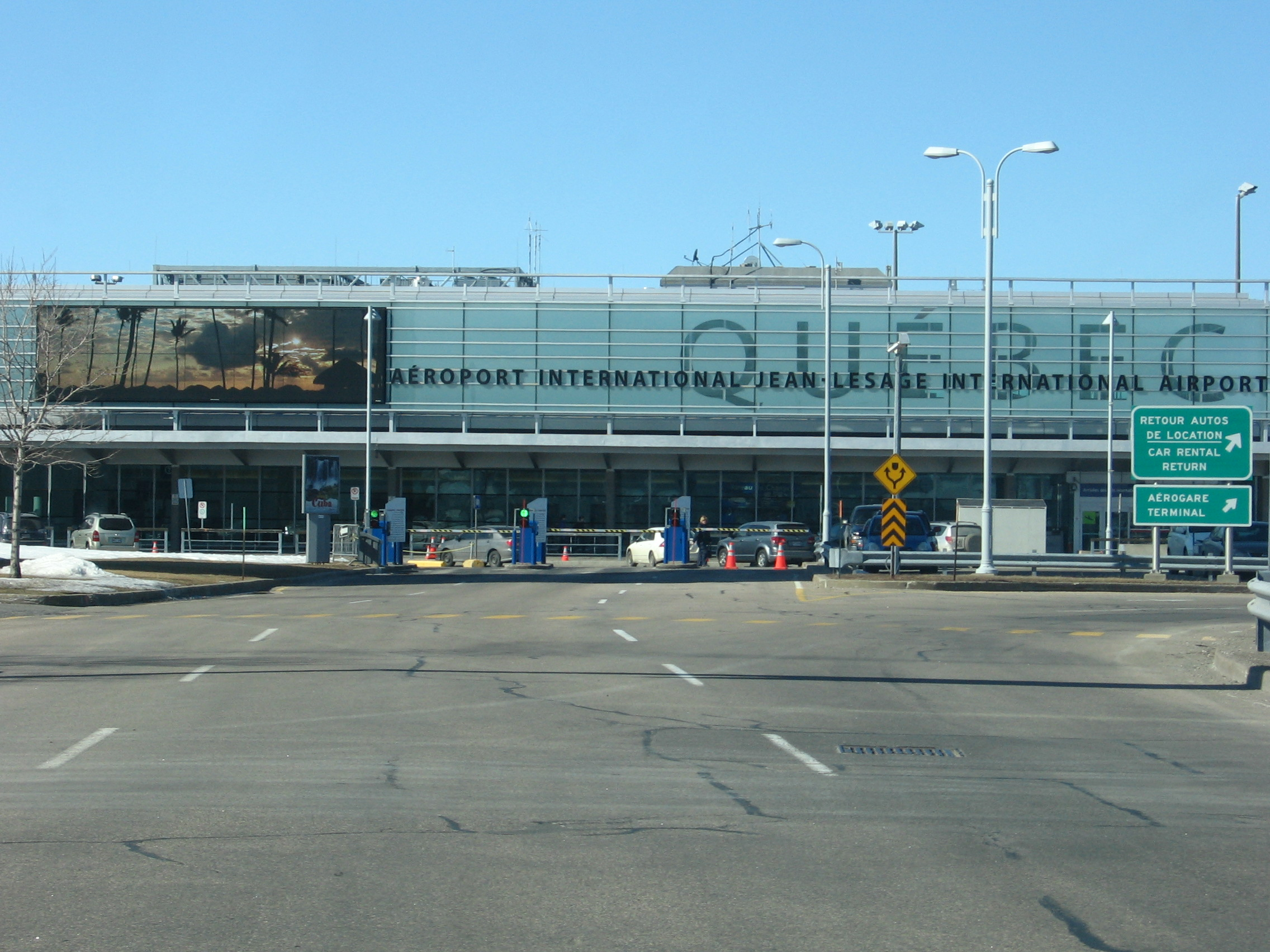 Aeroporto Quebec City : Aéroport international jean lesage de québec
