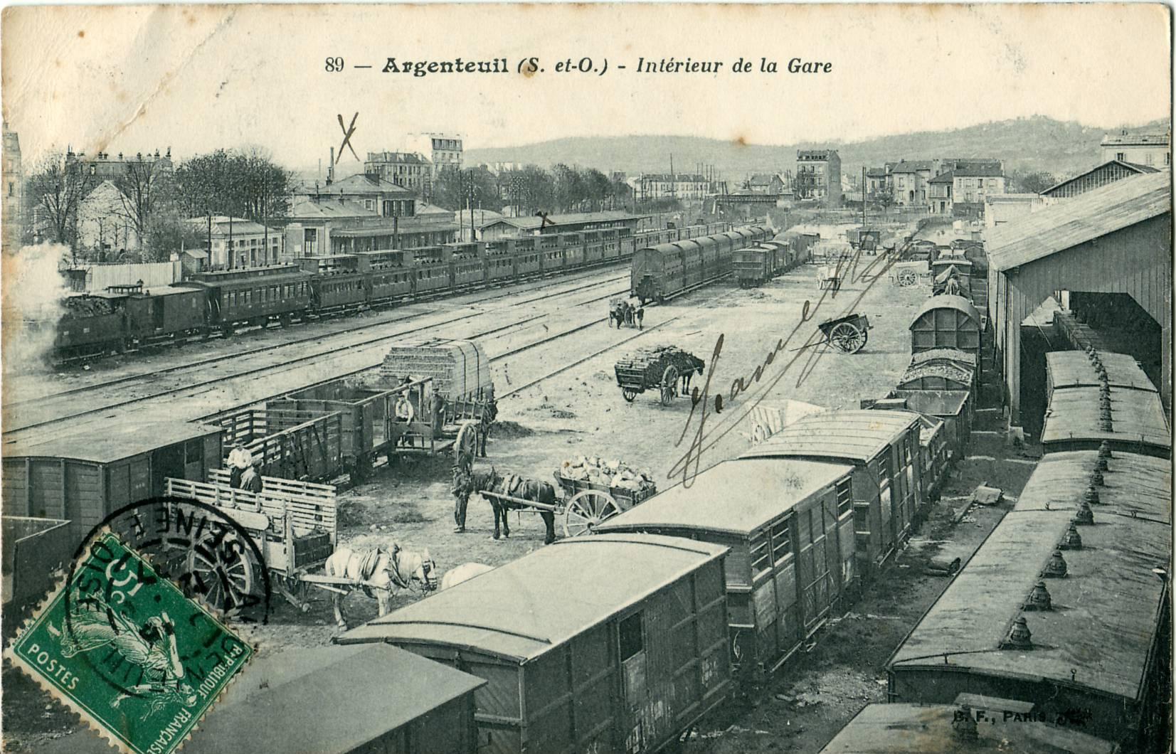 Gare d 39 argenteuil for Garage paris ouest argenteuil
