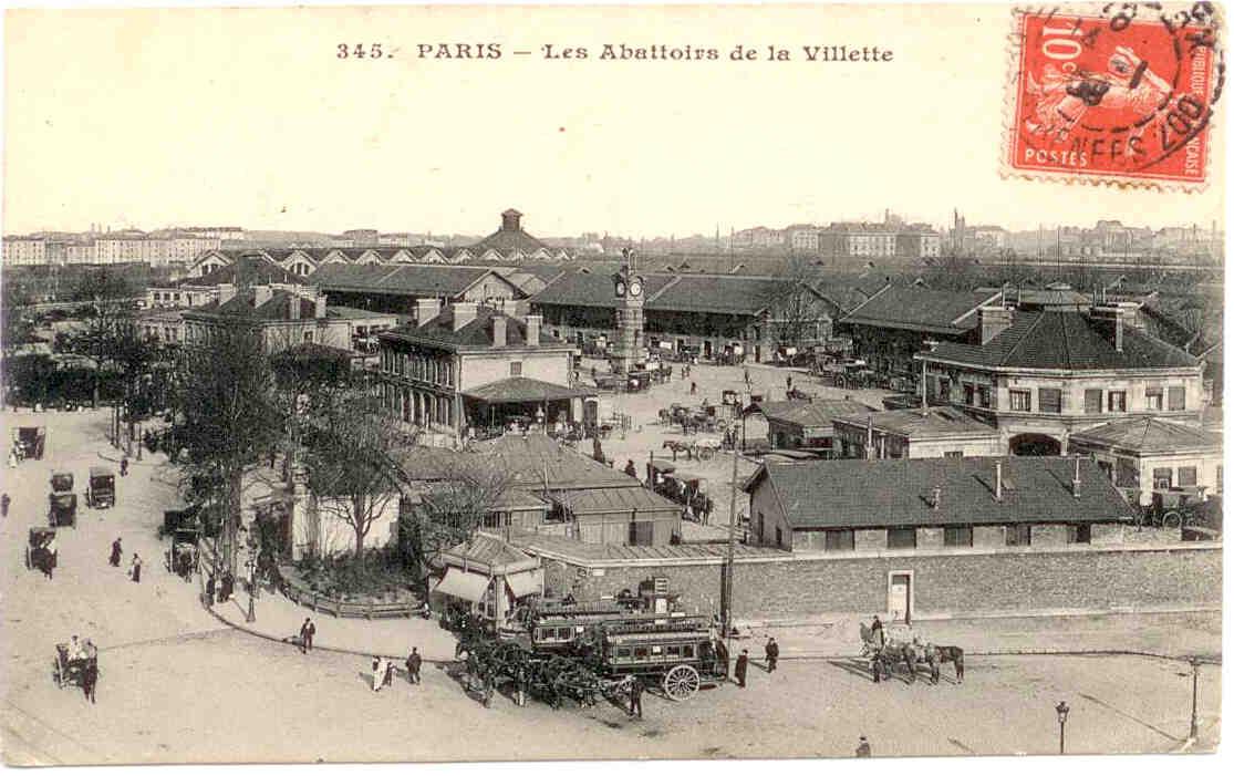 Abattoirs de la villette for Les photos de paris