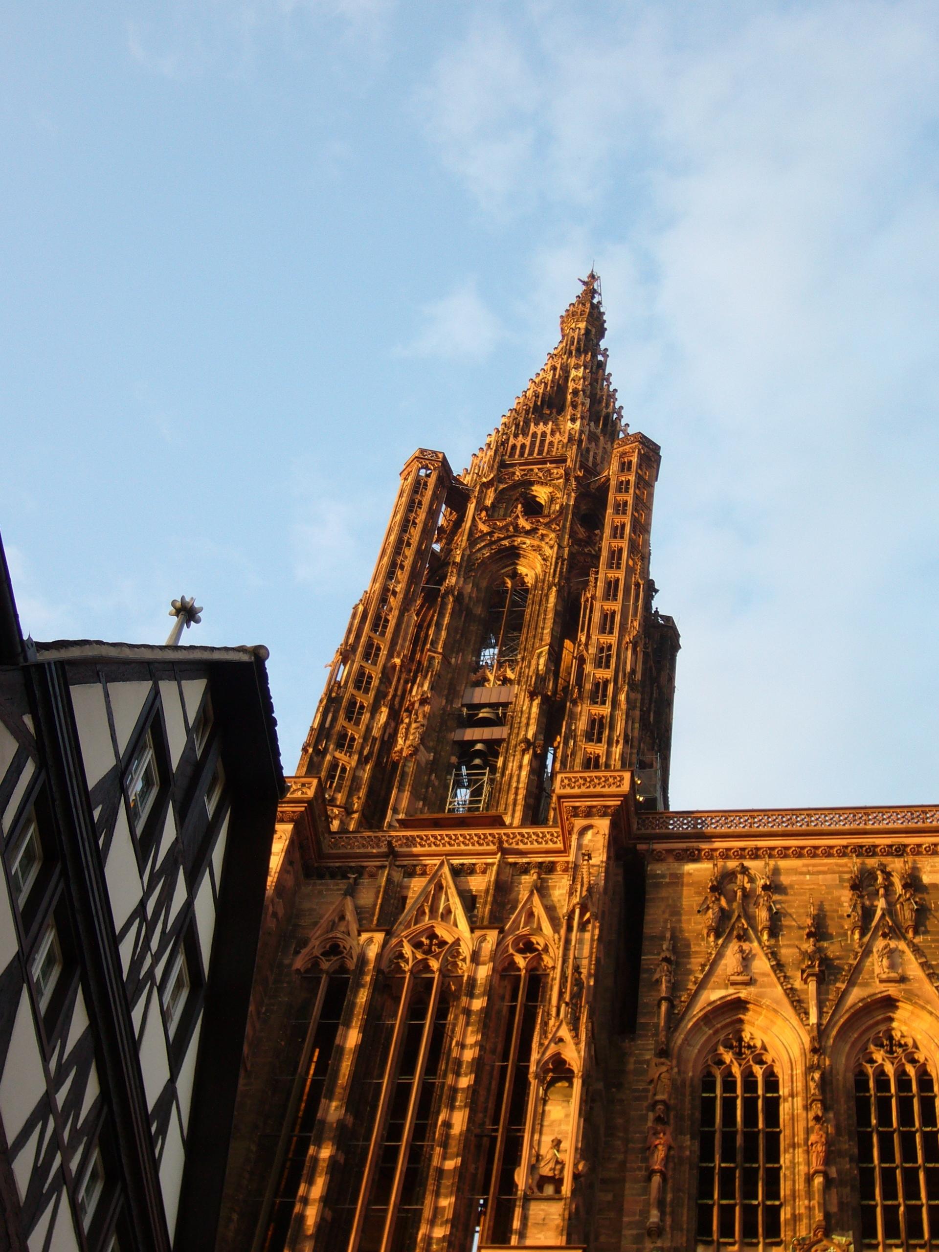 Vue Strasbourg Cath Ef Bf Bddrale Centre Ville