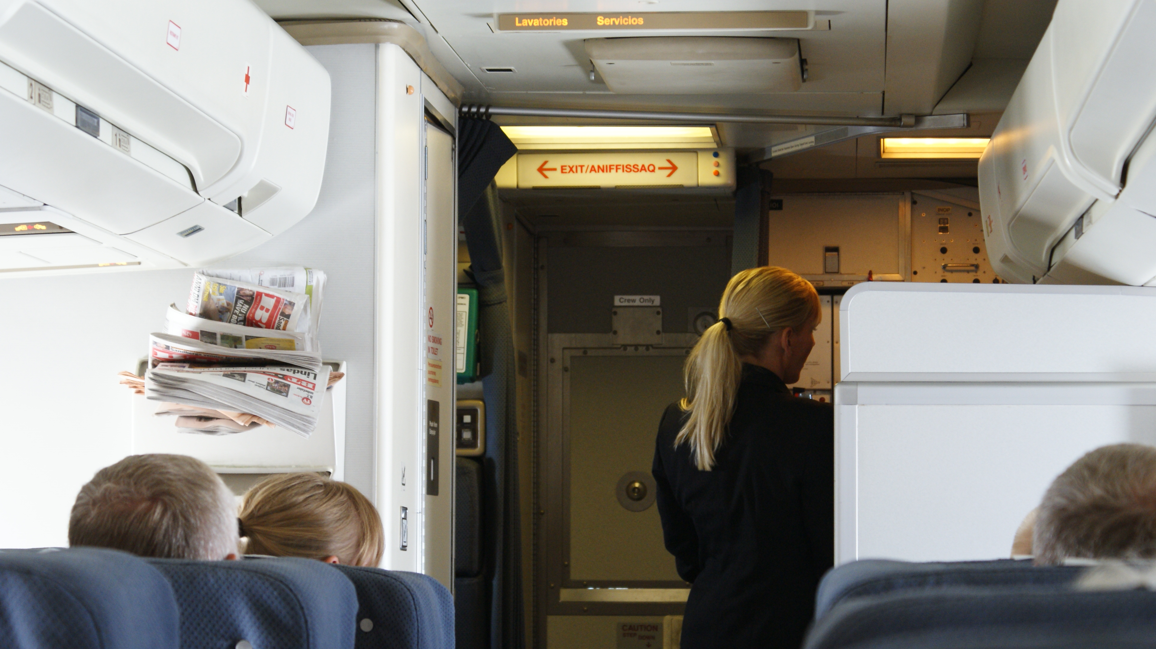Air greenland for Interieur boeing 757