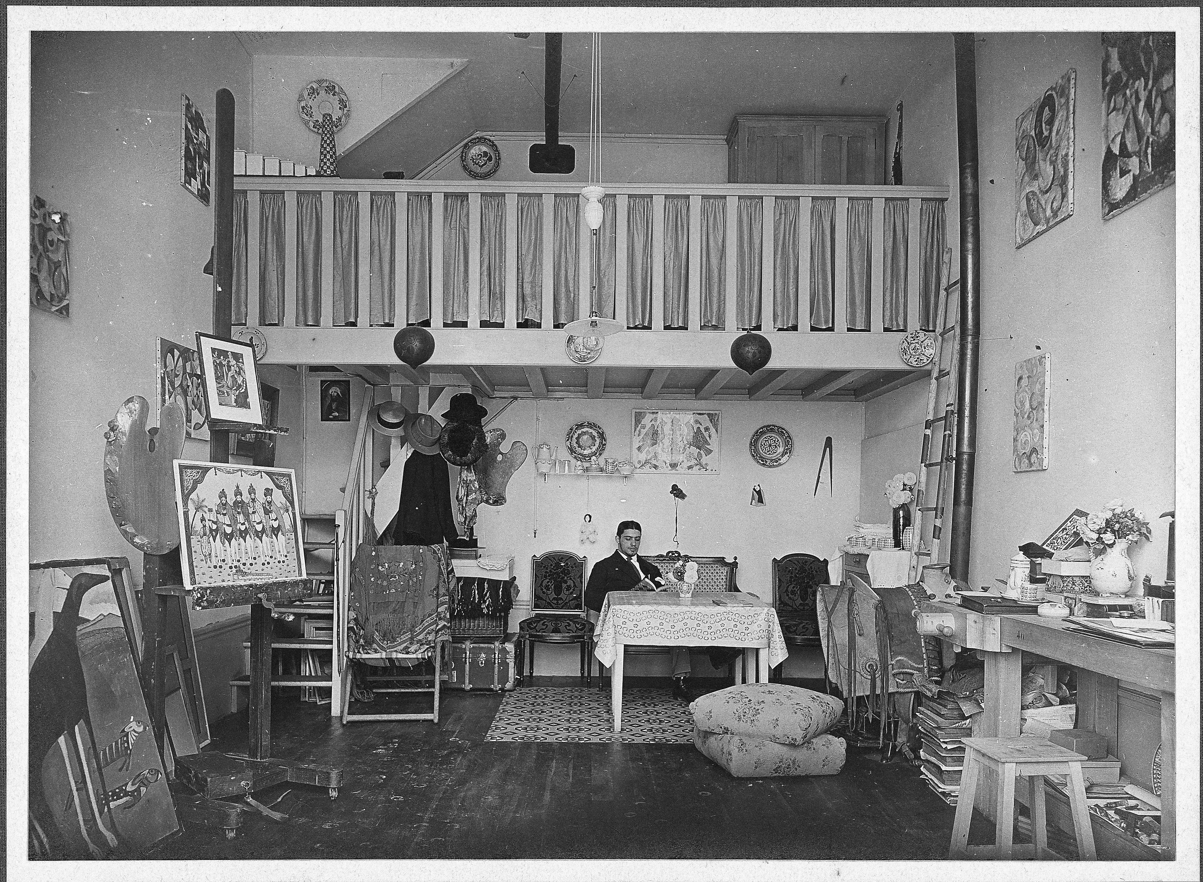 Mezzanine architecture for Chambre a coucher yakut