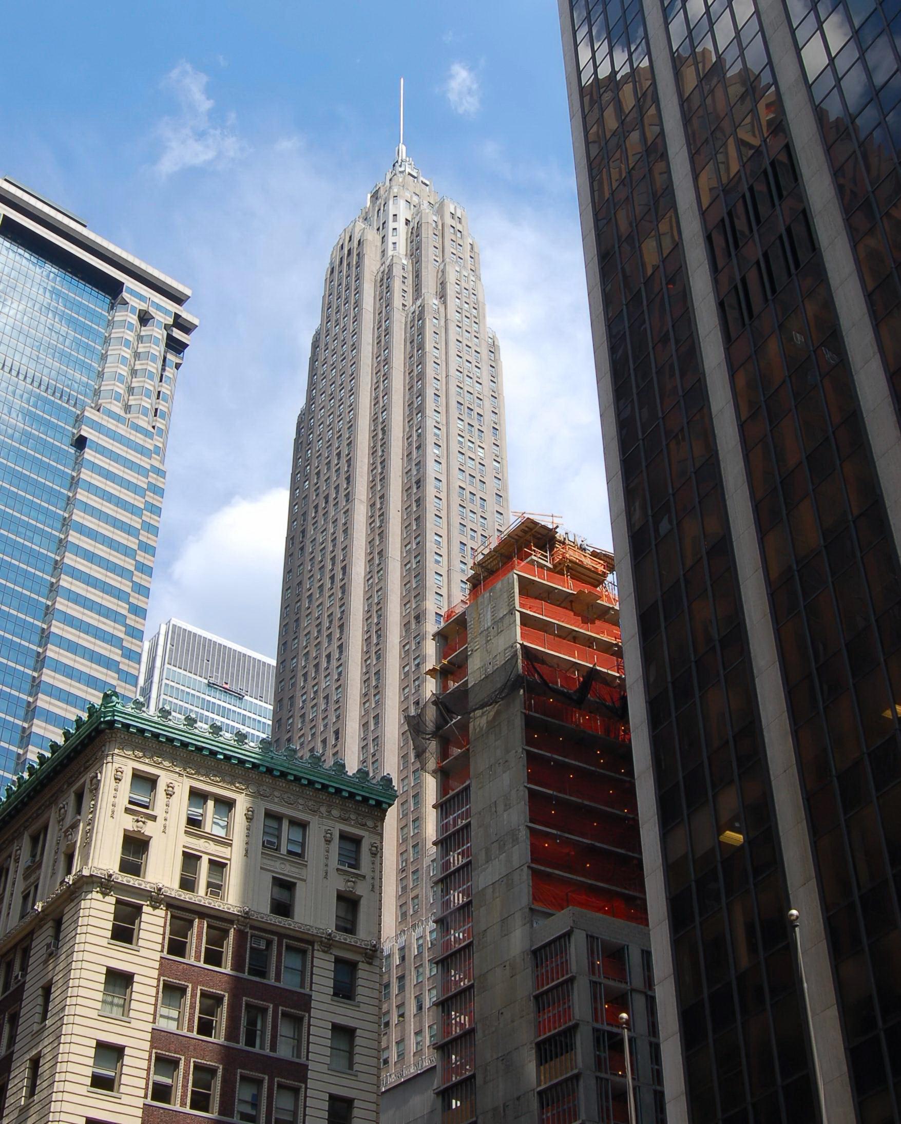 liste des cinquante plus hauts immeubles de new york. Black Bedroom Furniture Sets. Home Design Ideas