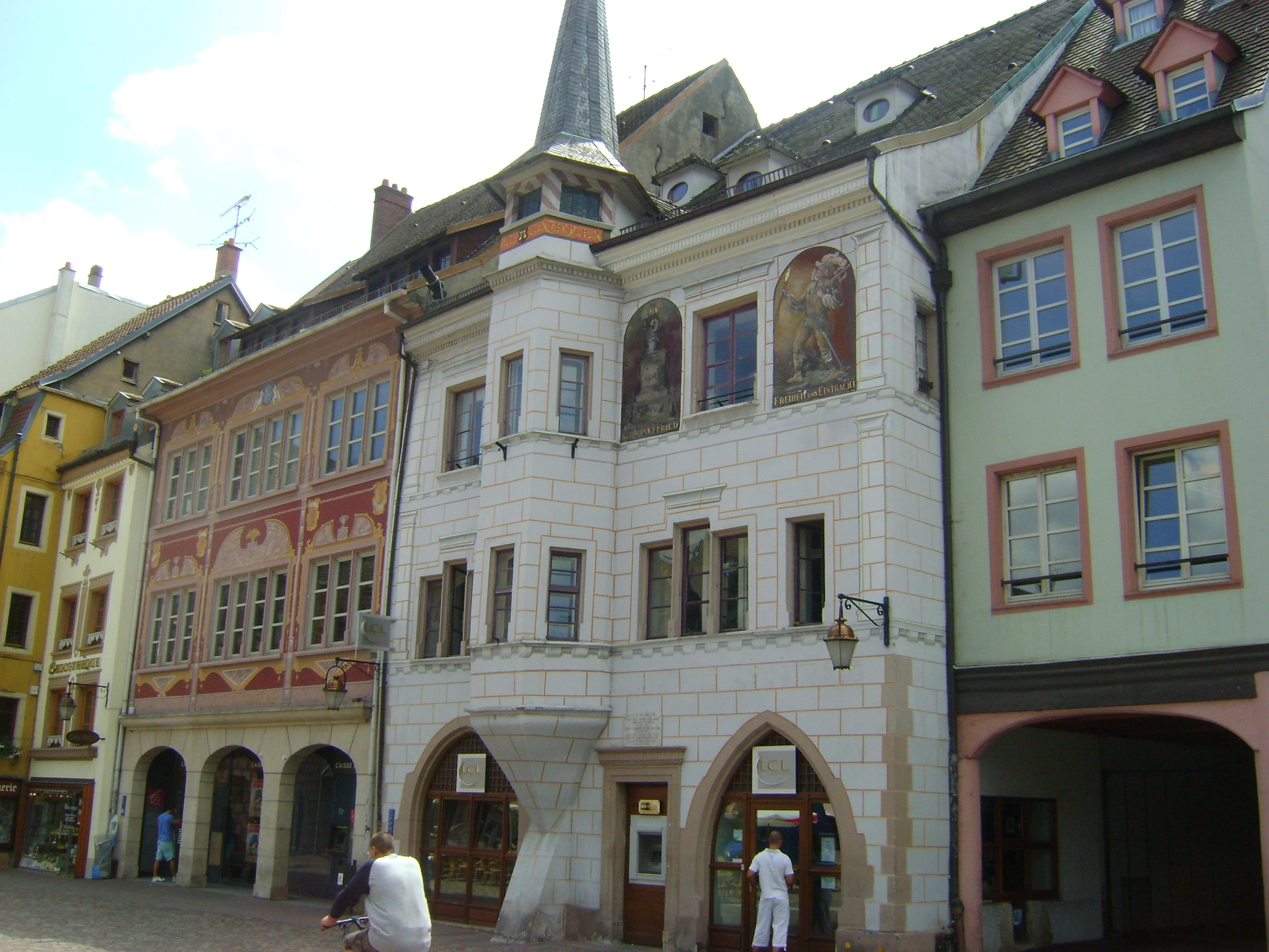 liste des monuments historiques de mulhouse. Black Bedroom Furniture Sets. Home Design Ideas