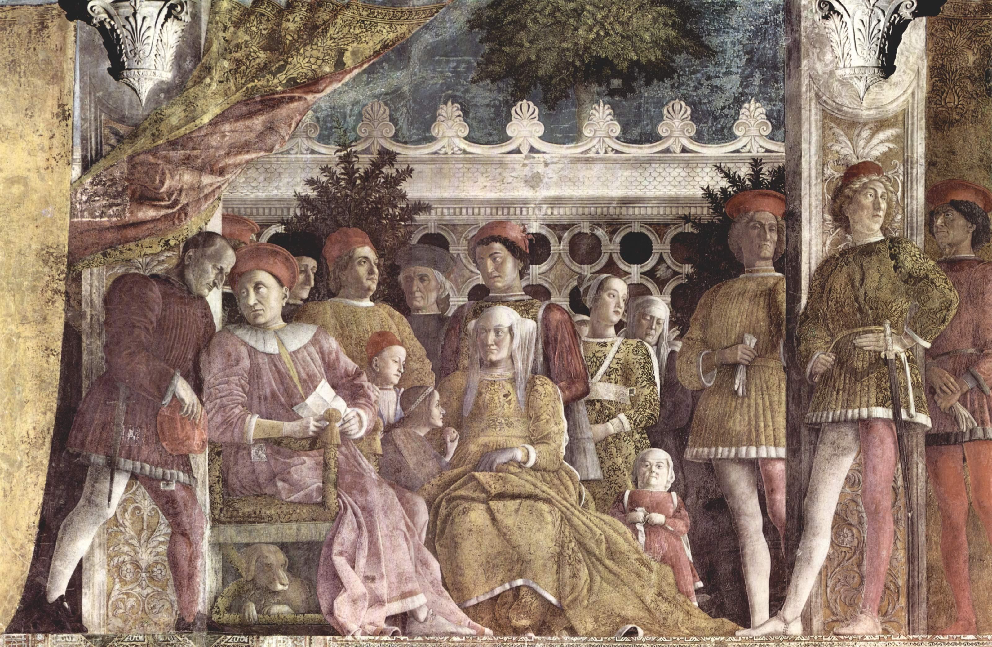 Chambre des poux mantegna for Camera sposi mantegna