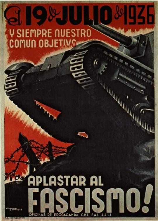 Affiche de la CNT FAI