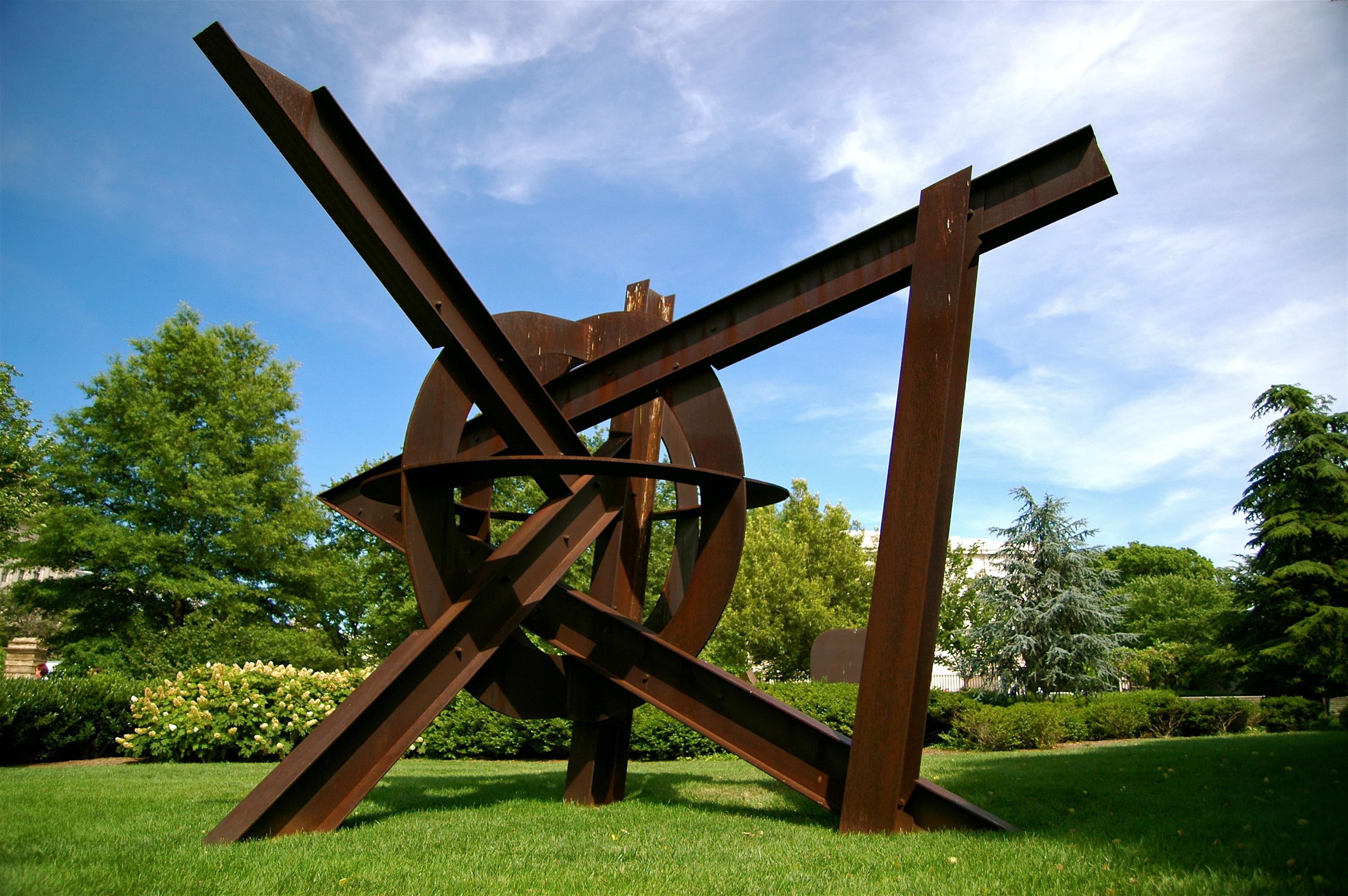 Jard n de esculturas de la galer a nacional de arte for Esculturas en jardines