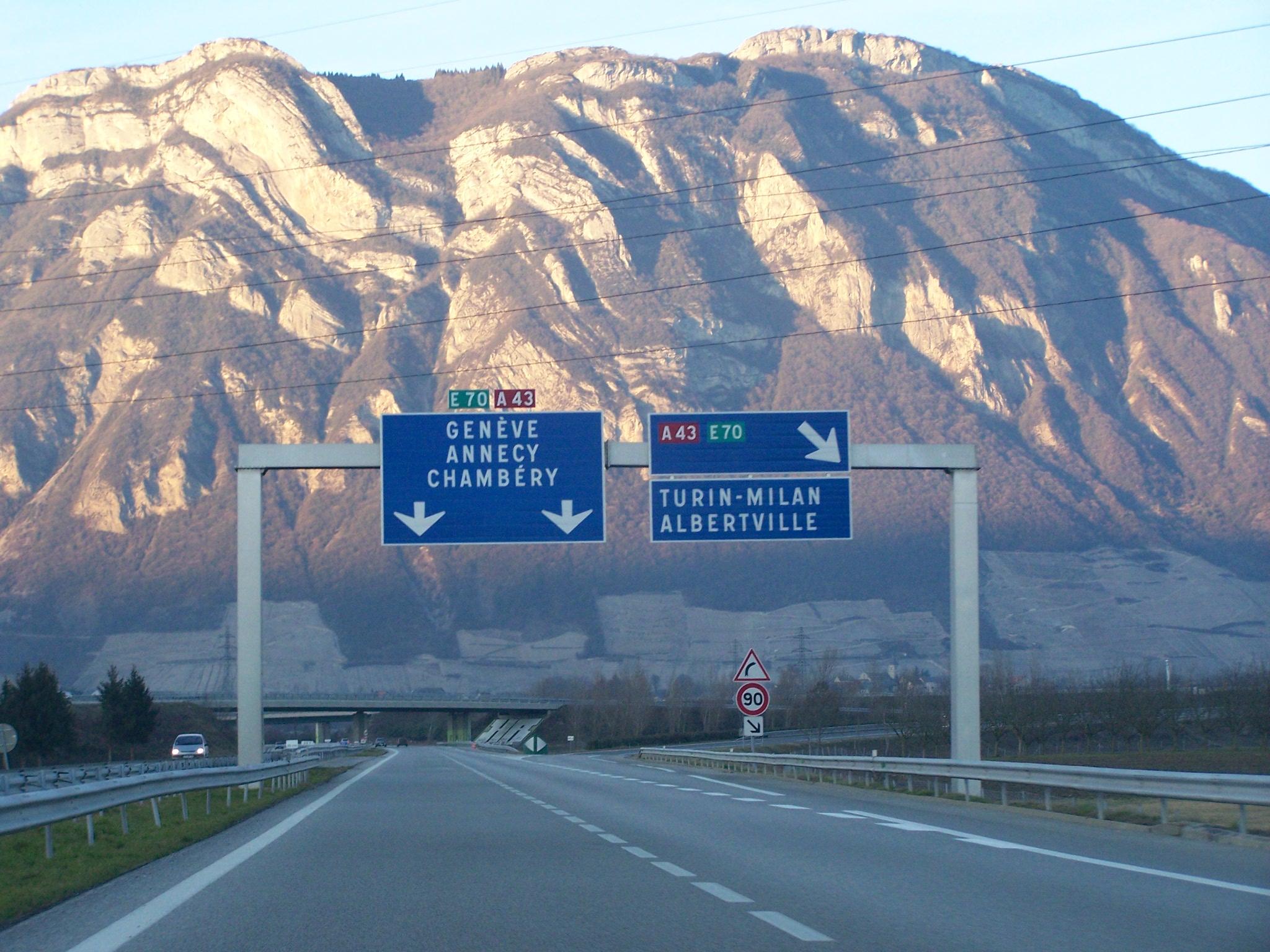 autoroute fran aise a43
