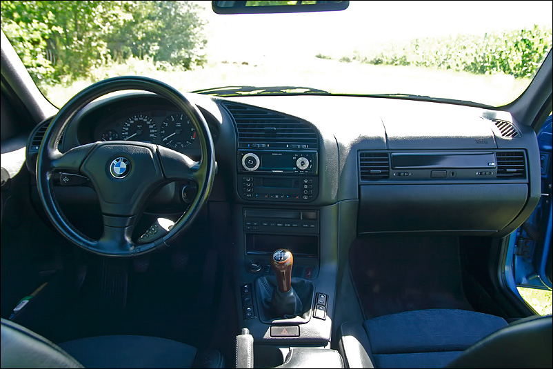 Bmw serie 3 for Interieur e36