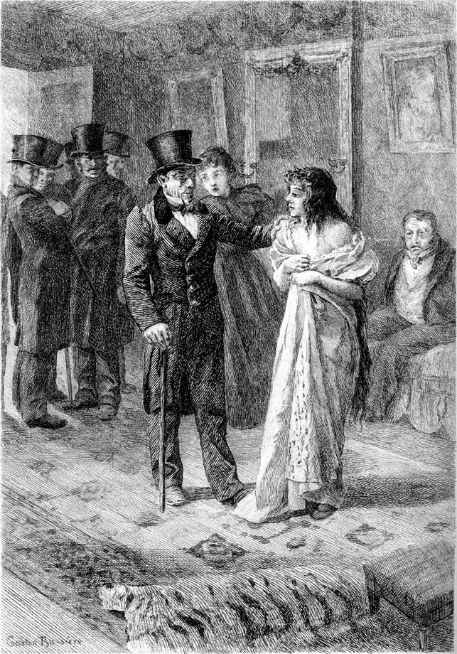 Gaston Bussière, illustration pour Splendeur et misières des courtisanes