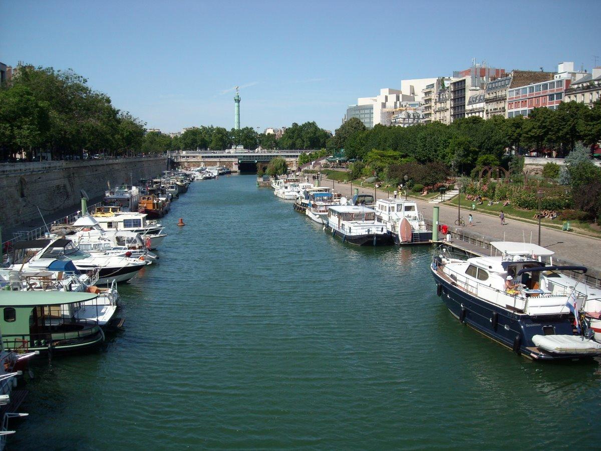 Bassin de l 39 arsenal - Port de l arsenal bastille ...