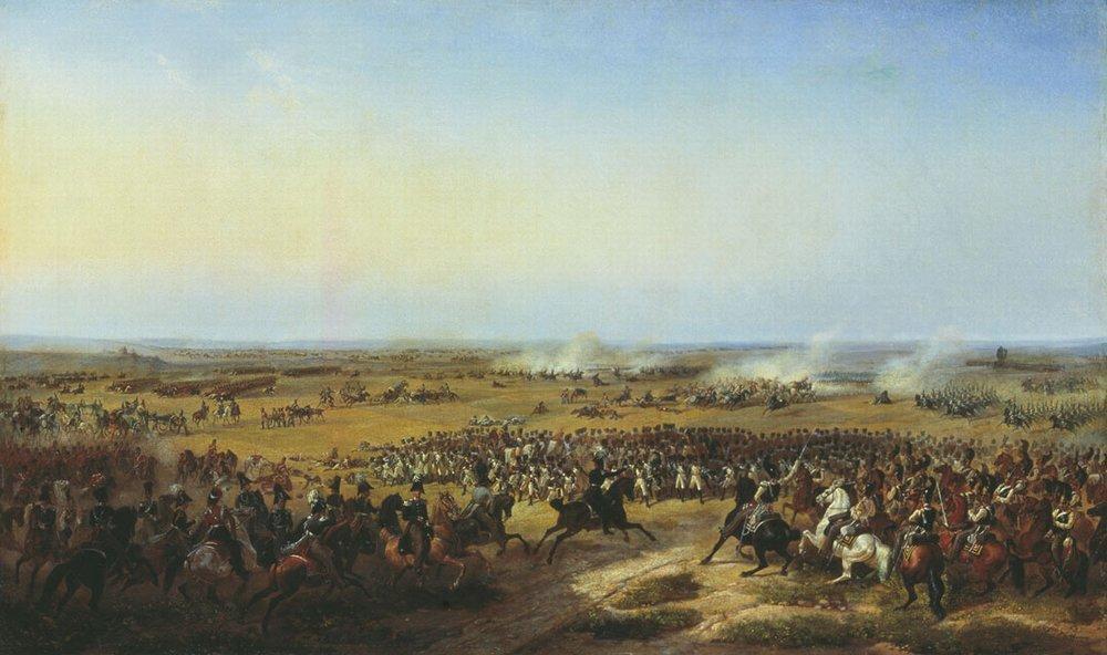 BATAILLE DE PARIS 1814 Battle_of_La_Fere-Champenoise_by_Timm