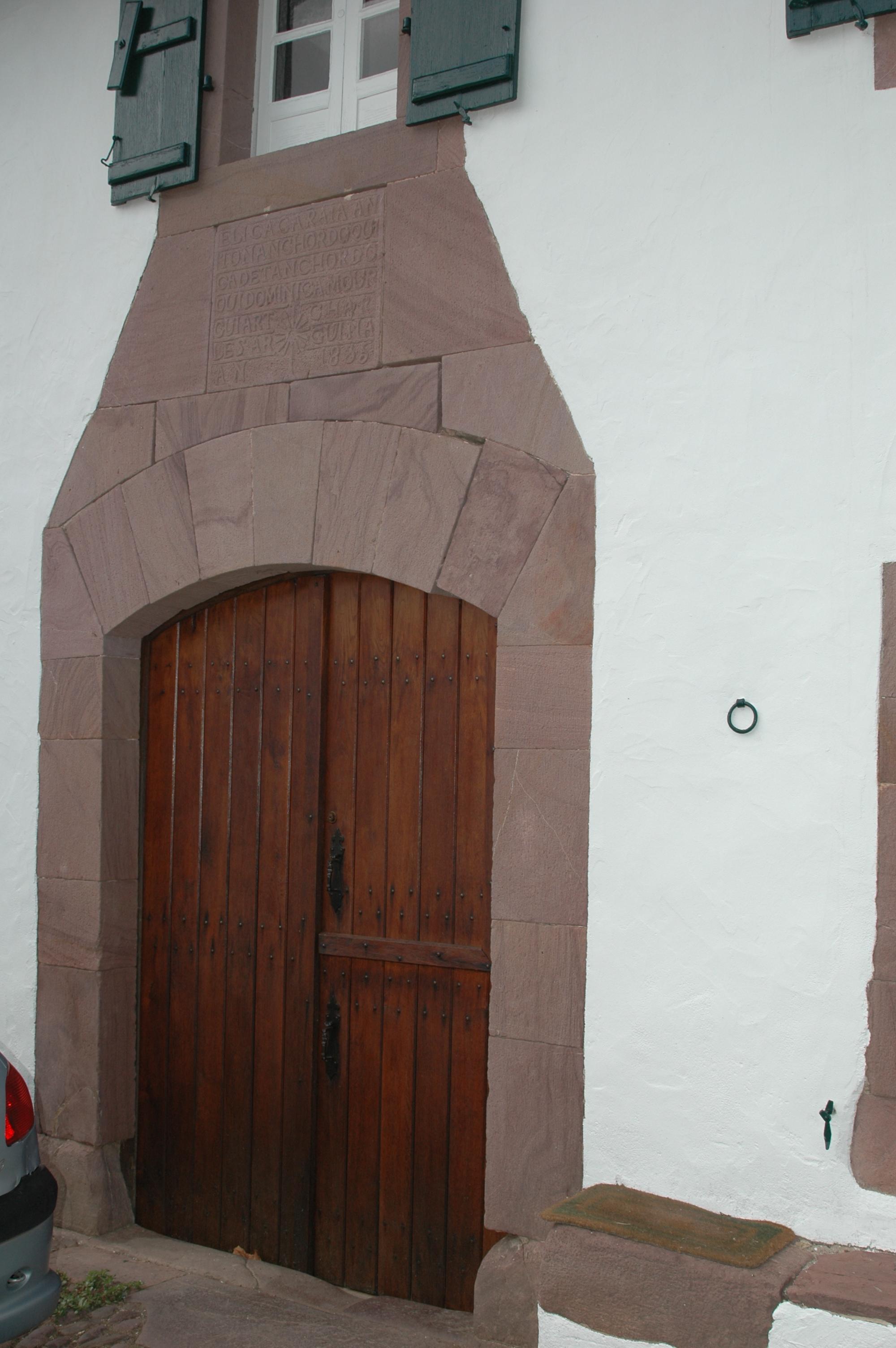 Maison basque - Architecture maison basque ...
