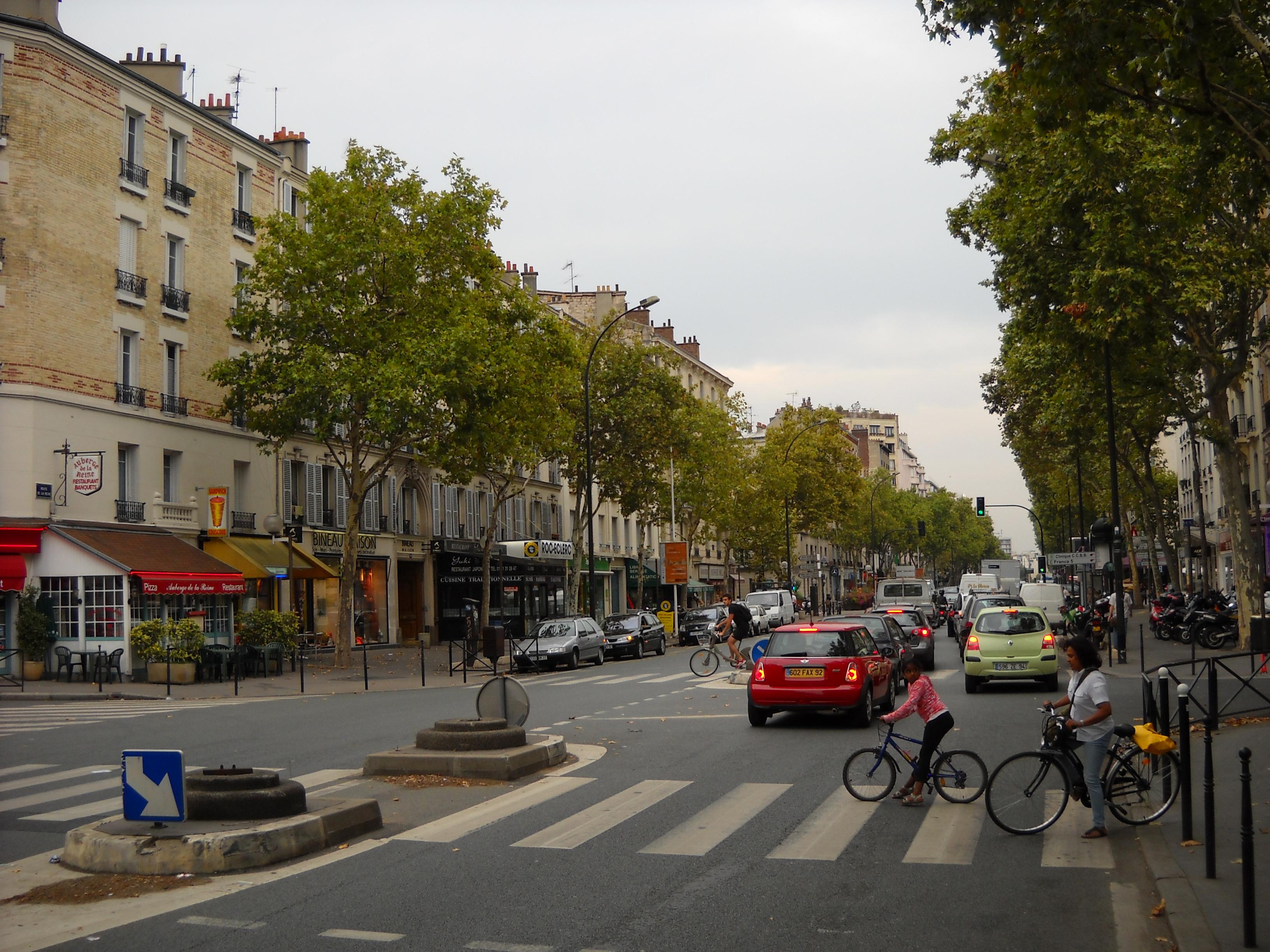 Boulogne billancourt for La poste porte de saint cloud