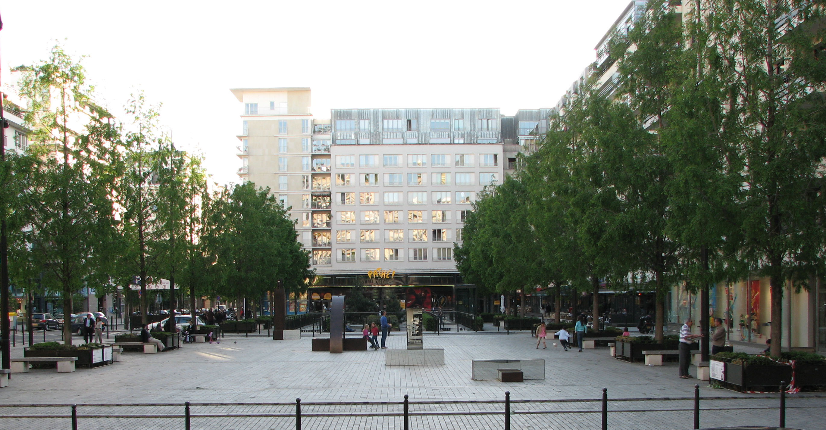 Centre ville boulogne billancourt for Boulogne billancourt piscine