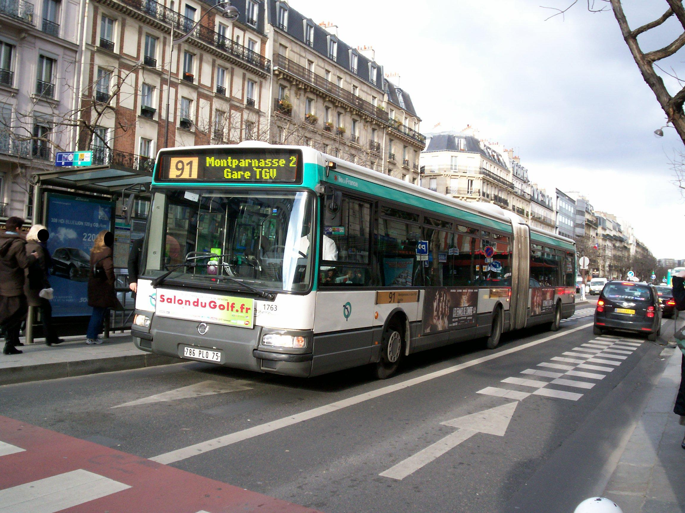 ligne de bus ratp 91. Black Bedroom Furniture Sets. Home Design Ideas