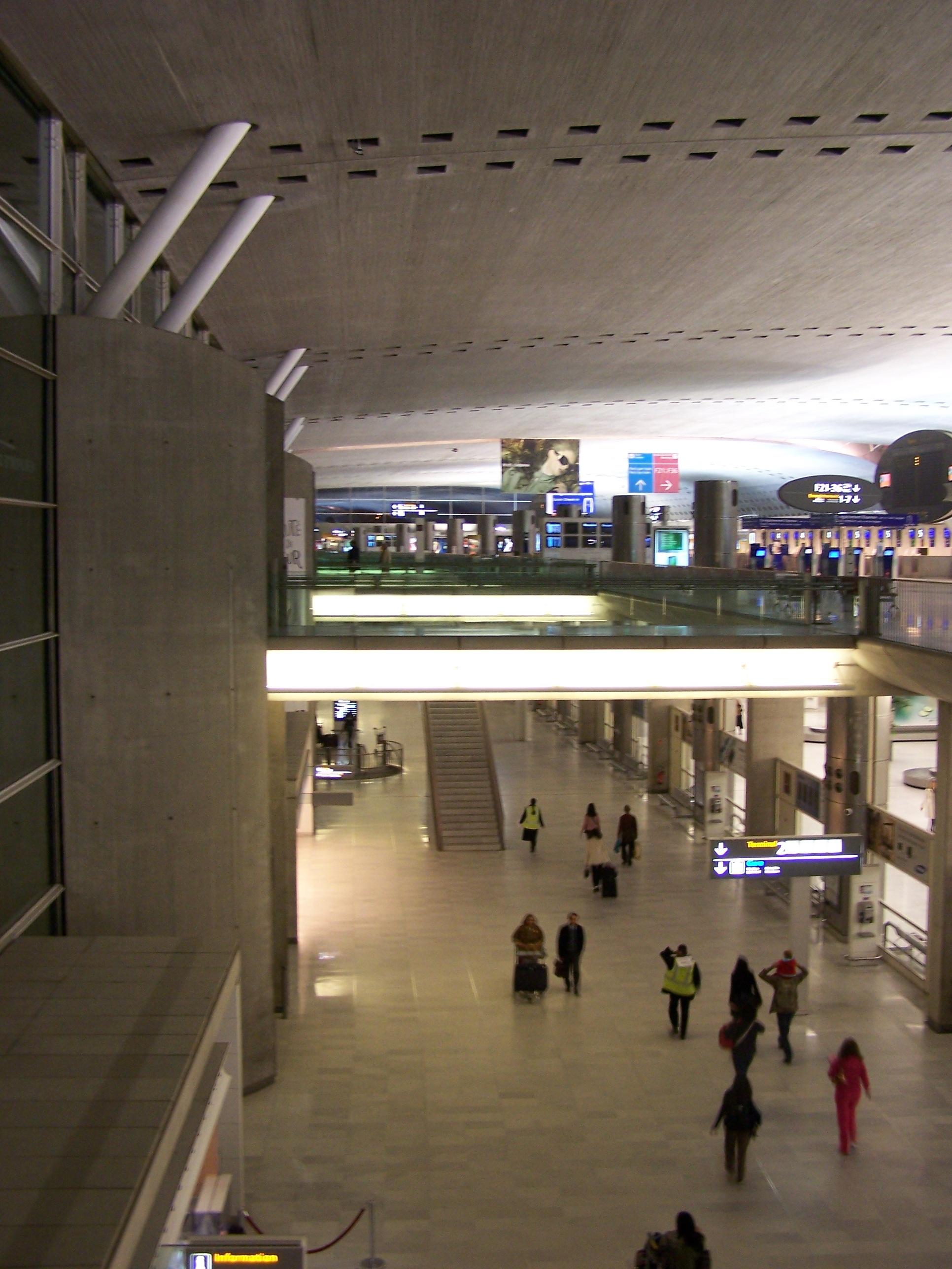 Схема аэропорта шарль де голль.