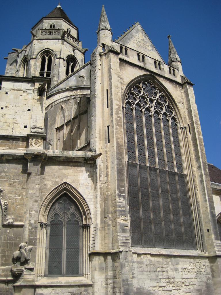 Glise saint tienne le vieux - Chevet architectuur ...
