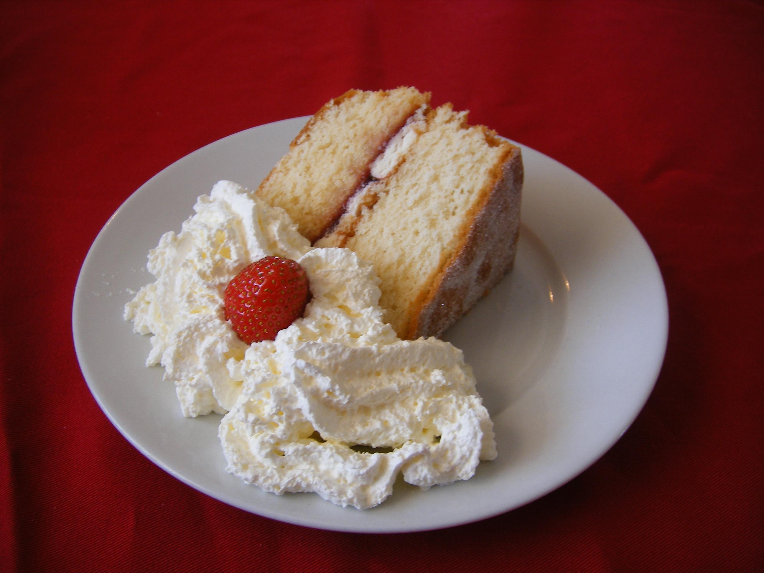 Sponge Cake Froid