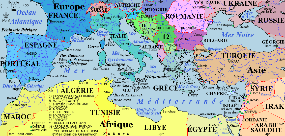 Mer noire - Ville bord de mer mediterranee ...