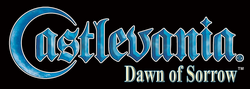 Logo de Castlevania: Dawn of Sorrow