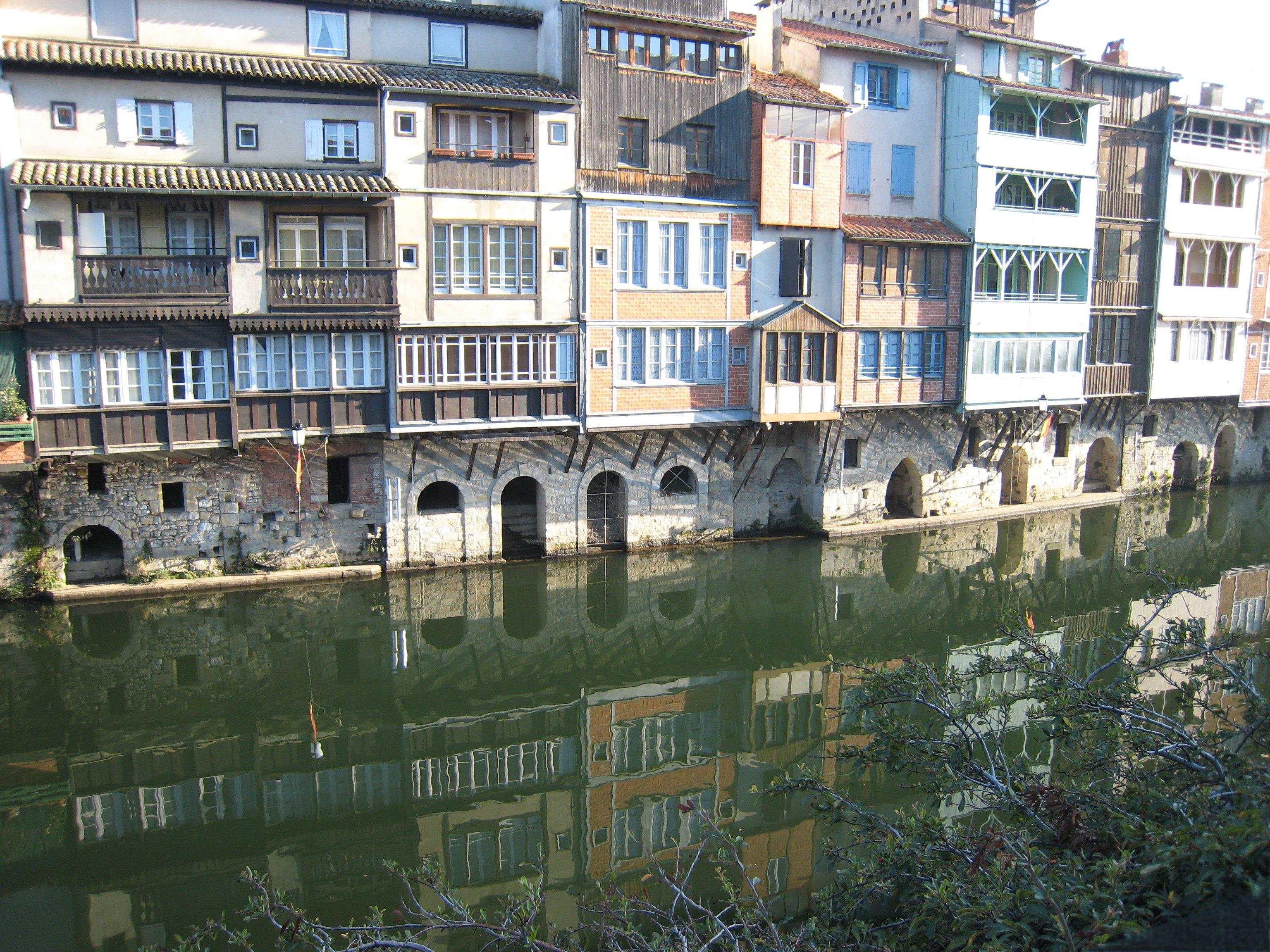 Castres France  city photos gallery : Maisons sur l'Agoût
