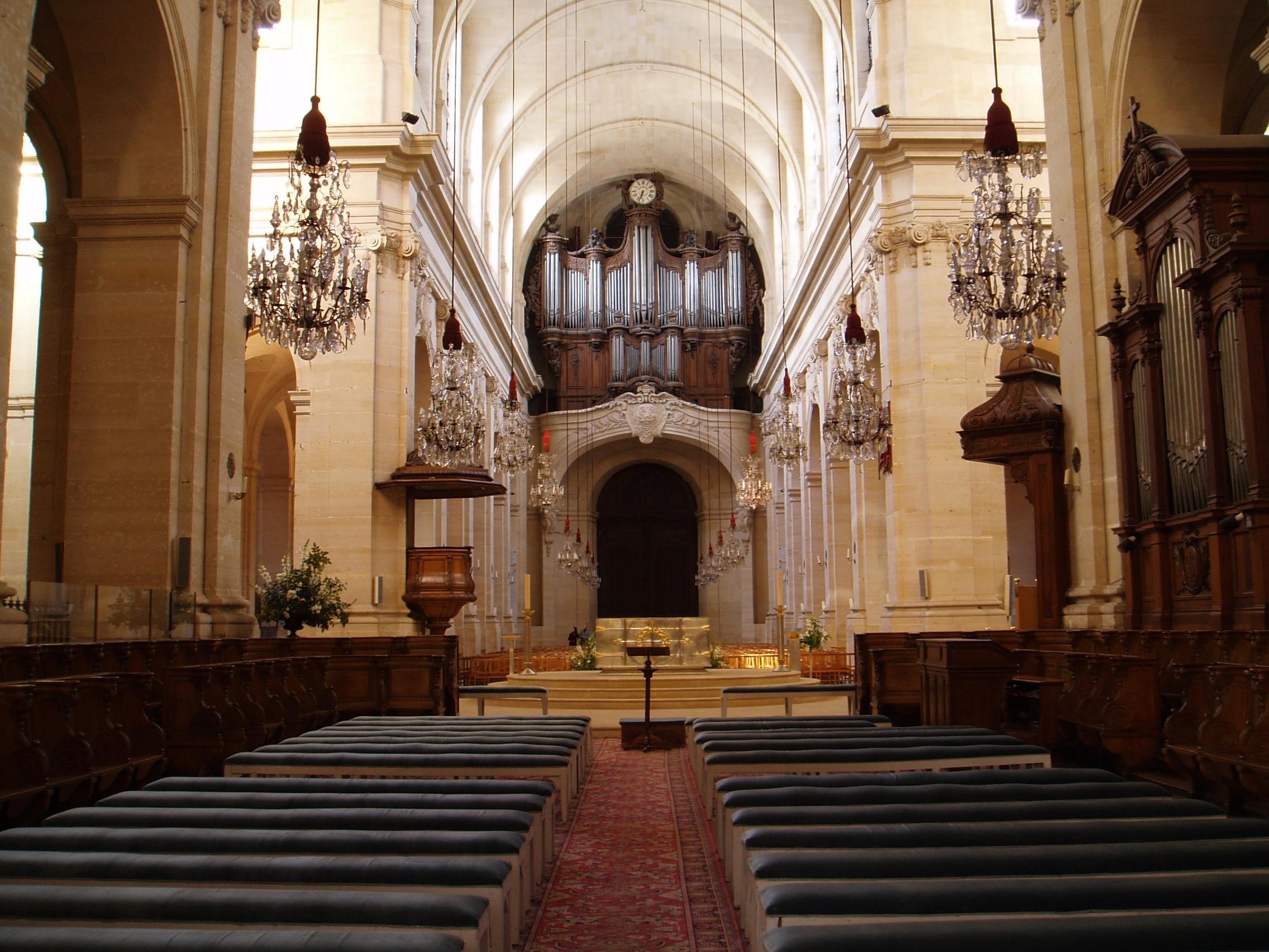 Cathedrale saint-louis de versailles.