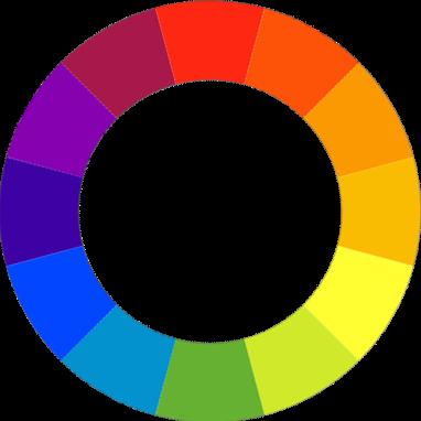 Couleurs tertiaires - Cercle chromatique couleur primaire ...