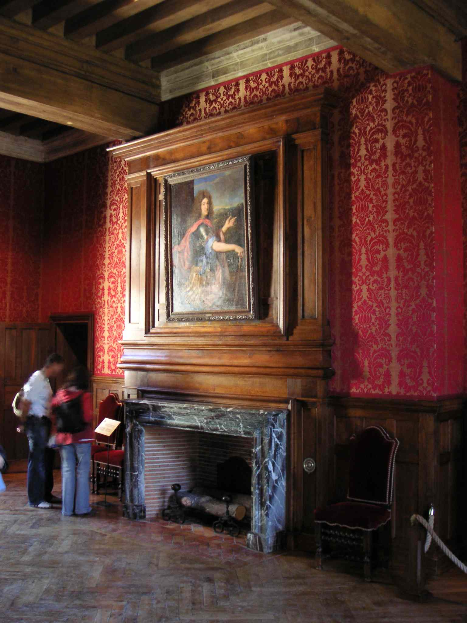 Chateau d 39 azay le rideau for Rideau interieur