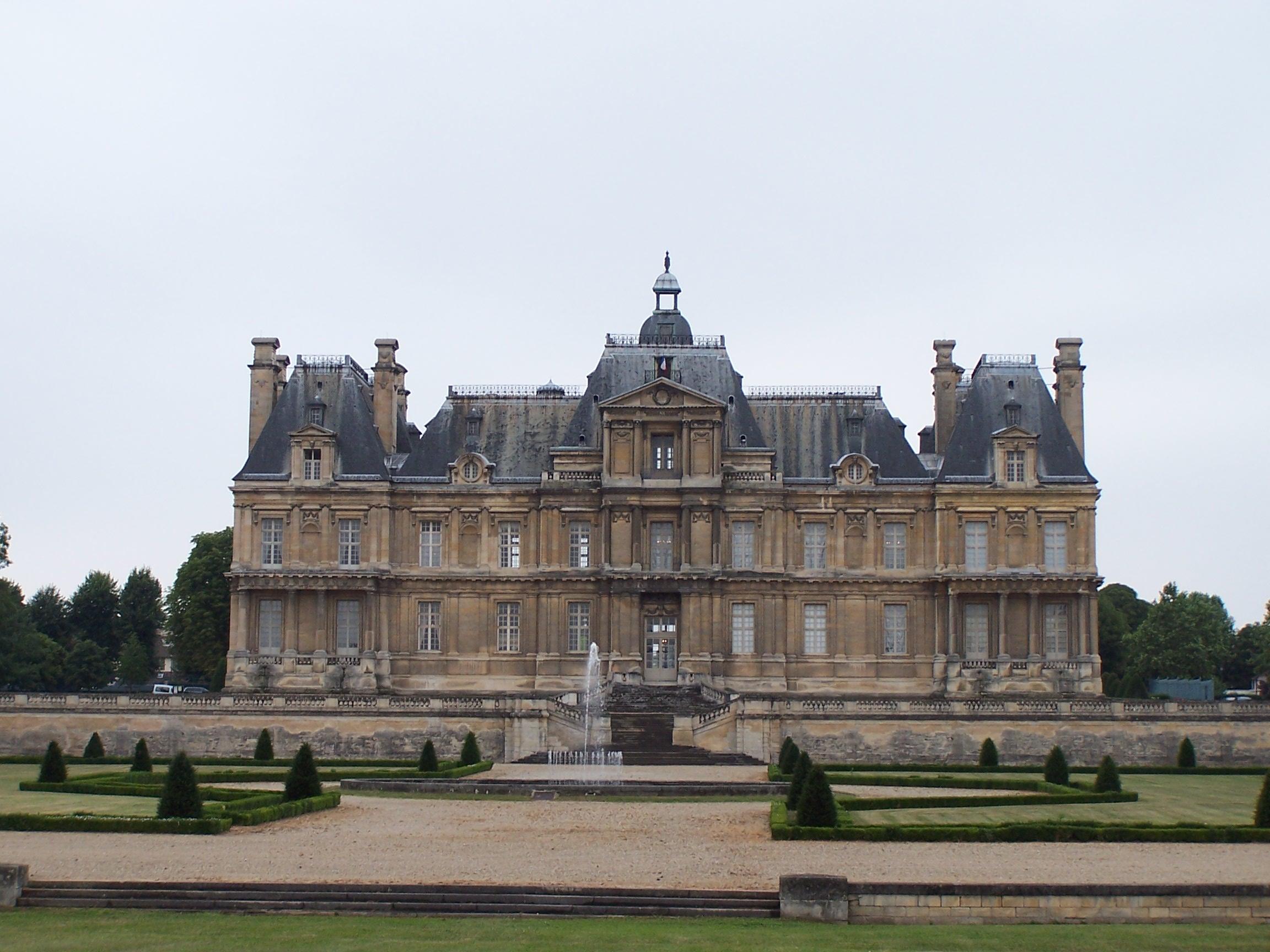 Francois mansart for Modele maison nobless