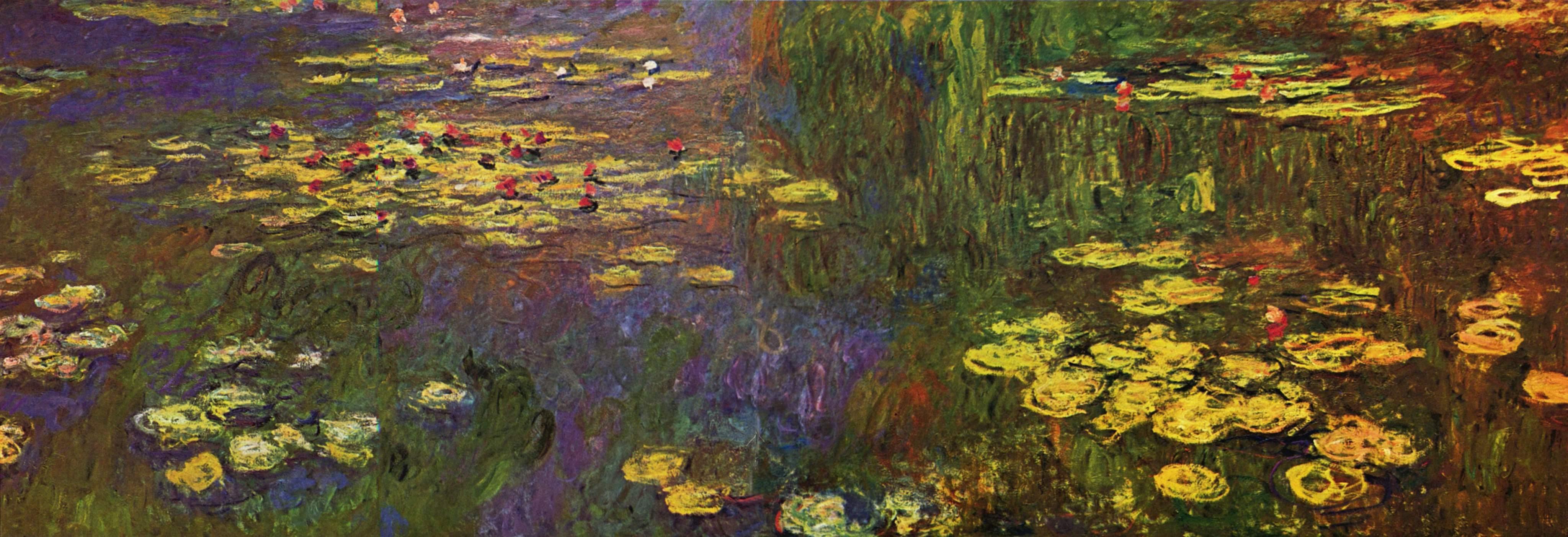 Monet, huile sur toile, Musée de l'Orangerie, Paris