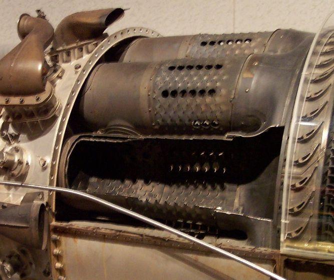 Compresseur axial for Chambre de combustion moteur