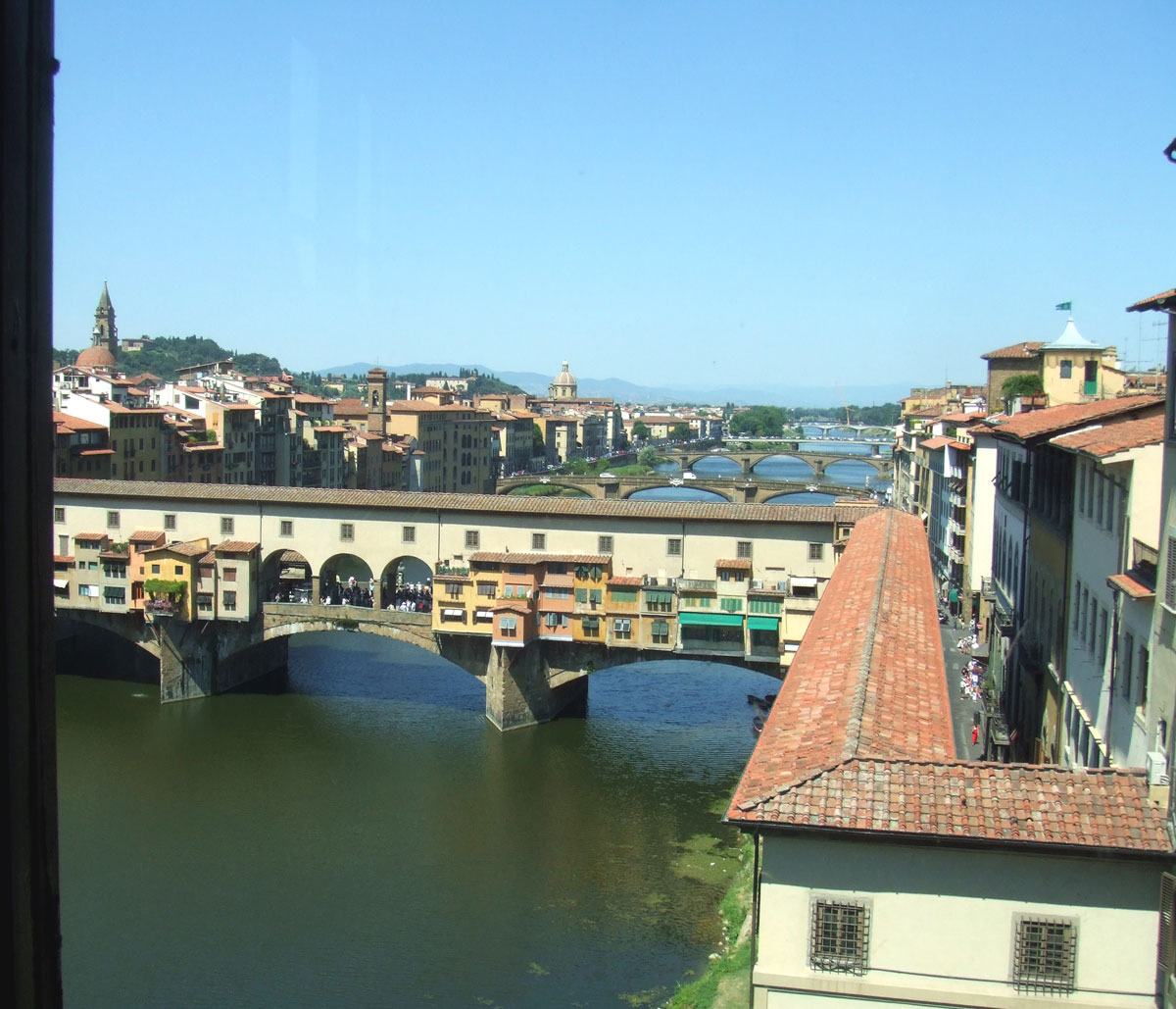 Ponte vecchio - Galerie des offices florence site officiel ...