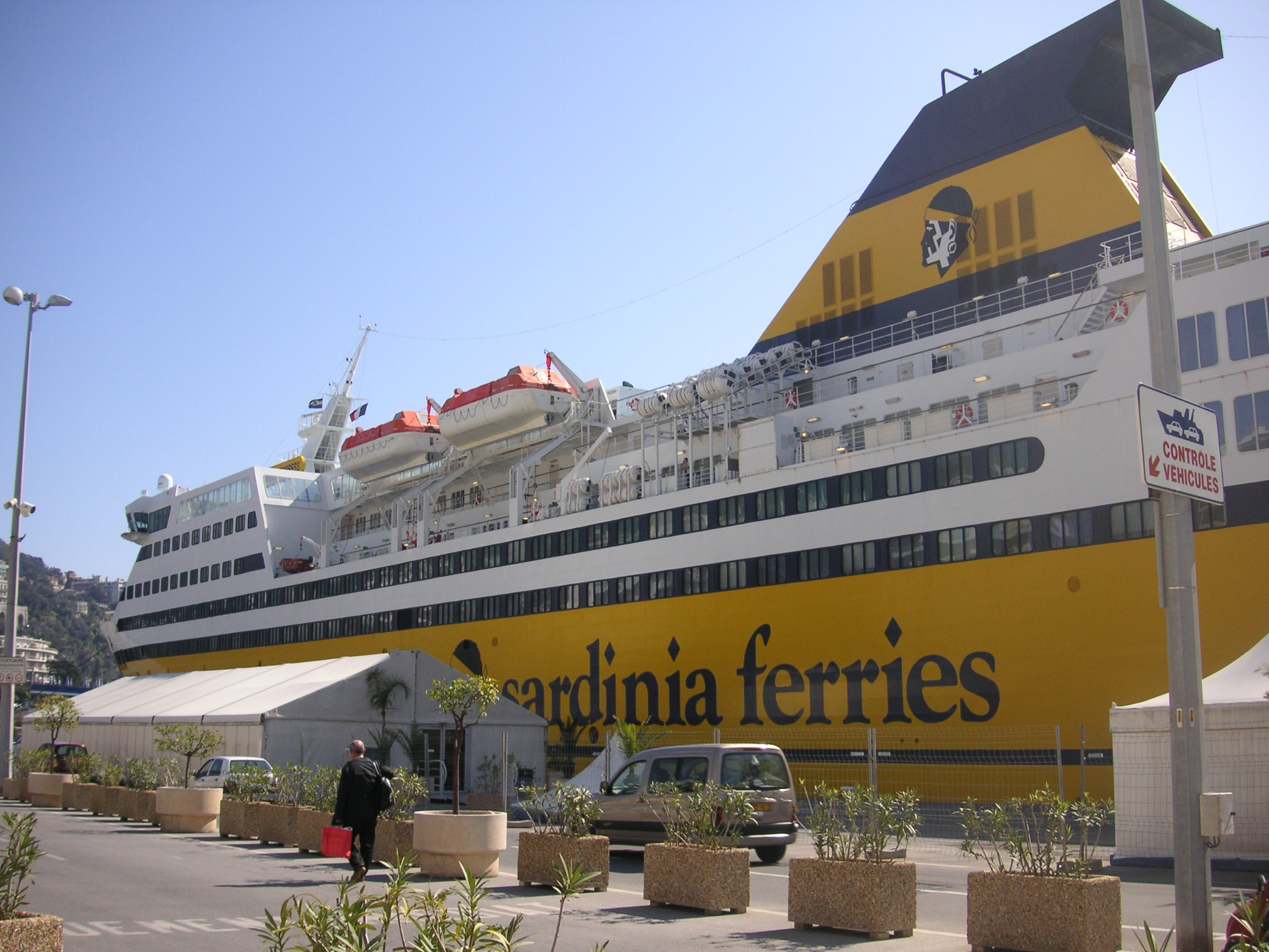 Mega express ferry - Port toulon corsica ferries ...