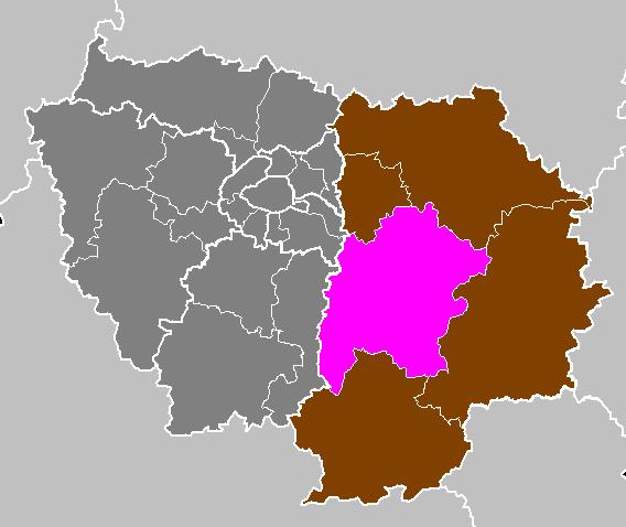 Arrondissement de melun for Departement melun