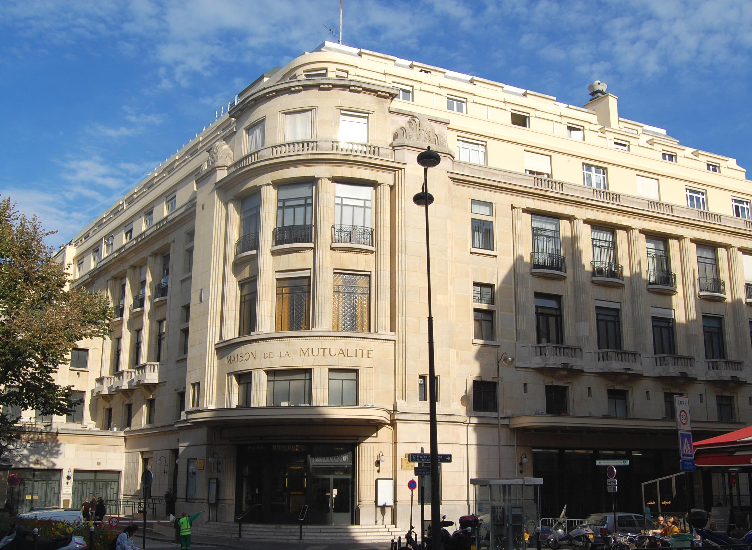 Palais de la mutualit for La maison de will smith